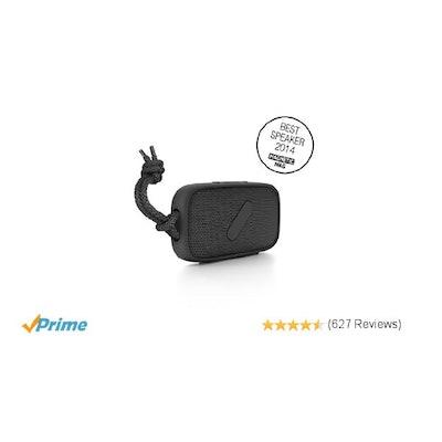Amazon.com: NudeAudio Super-M Portable Wireless Bluetooth Speaker; Black; IPX-5