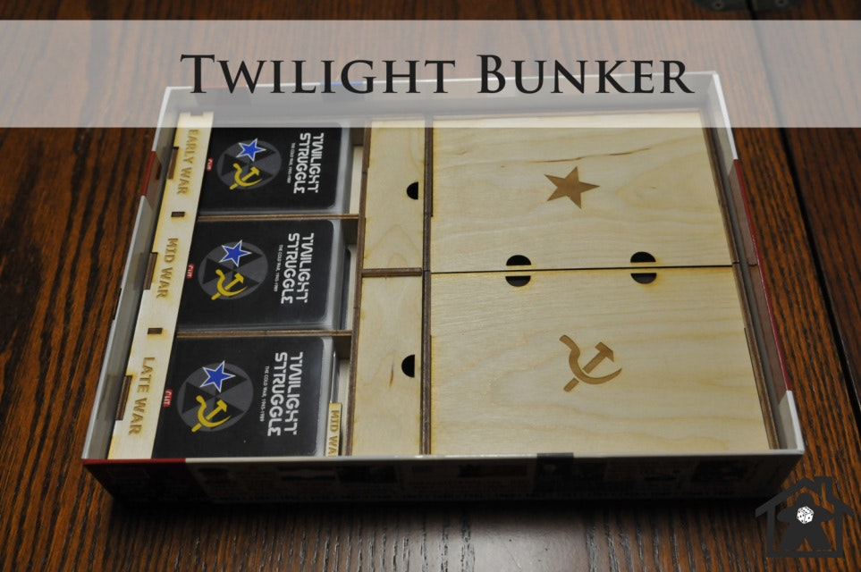 Twilight Bunker (compatible with TWILIGHT STRUGGLE™) - Meeple Realty