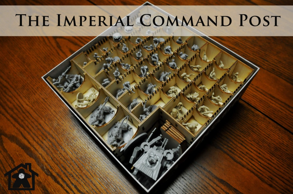 The Imperial Command Post ( compatible with IMPERIAL ASSAULT™ ) - Meeple Realty