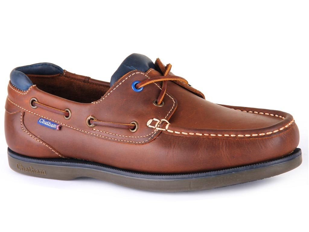 Chatham Made In Britain Pitt Boat Shoes