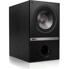 KEF Q100B Bookshelf Loudspeakers - Black Oak (Pair): Electronics