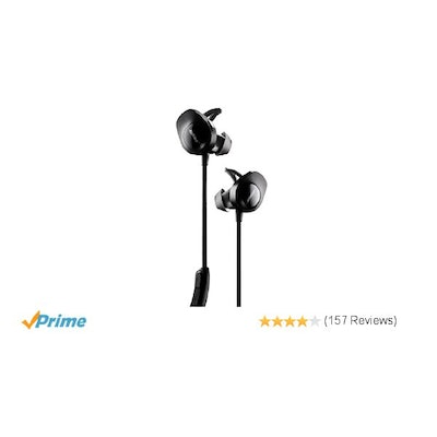Amazon.com: Bose SoundSport Wireless Headphones, Black: Electronics