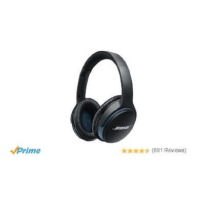 Amazon.com: Bose SoundLink around-ear wireless headphones II Black: Home Audio &