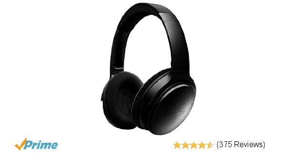 Bose QuietComfort 35 Wireless Headphones - Black: Amazon.co.uk: Electronics
