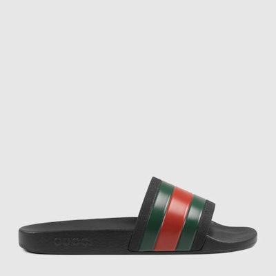Gucci Black Slide