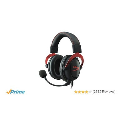 Amazon.com: HyperX Cloud II Gaming Headset for PC & PS4 - Red (KHX-HSCP-RD): Com
