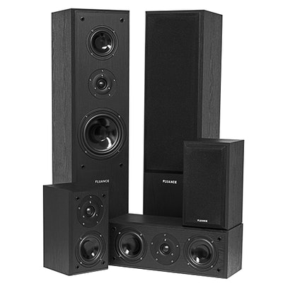 Fluance AVHTB+ Surround Sound Home Theater 5 Speaker System | Fluance