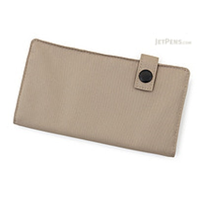 Lihit Lab Smart Fit Pen Case - Beige