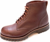 107F Brown Zug Grain Field Boot