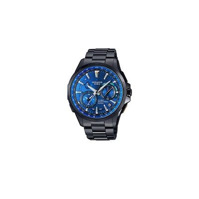 "CASIO OCEANUS ""GPS hybrid electric wave solar Limited Edition"""