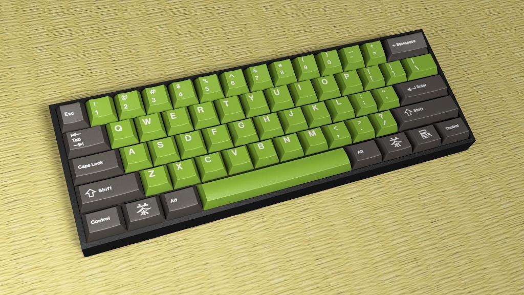 Green Tea > Pimp My Keyboard