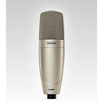 Shure KSM32 Embossed Single-Diaphragm Microphone