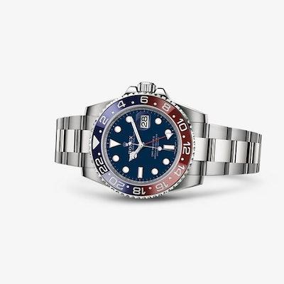 Rolex GMT-Master II Watch: 18 ct white gold – 116719BLRO