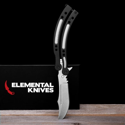 Elemental Knives CS:Go-Style Butterfly Knife