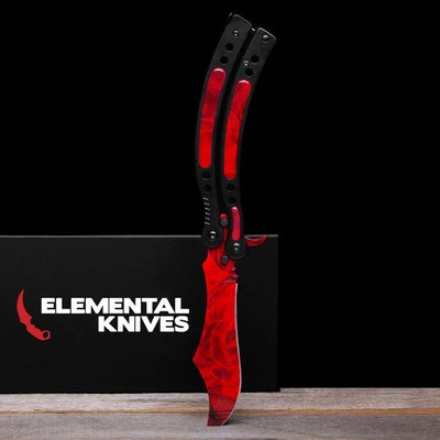 Real Ruby Butterfly 2 - Elemental Knives