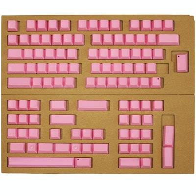 Topre Realforce Keycap Set (Cherry Blossom Pink - Non Printed)   MechanicalKeybo