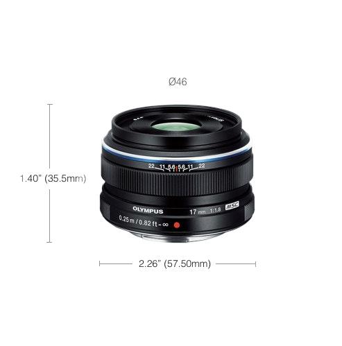 M.Zuiko 17mm F1.8 Premium Wide Prime Lens    Olympus