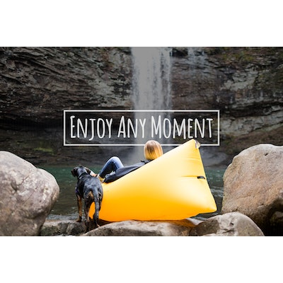 WindPouch   The World's Best Inflatable HammockWindPouch Inflatable Hammock