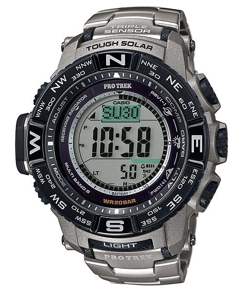 Titanium Casio 3500T Pro Trek triple v3 sensor watch