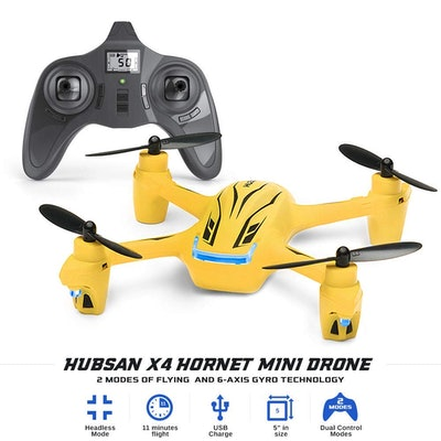 Hubsan X4 Hornet Mini Drone- 11 Minutes Flying Time