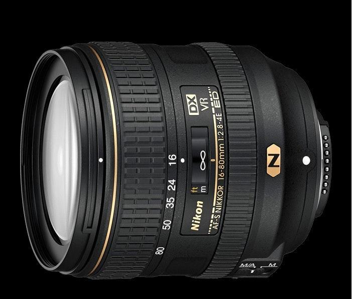 AF-S DX NIKKOR 16-80mm f/2.8-4E ED VR | DX-format zoom lens | Nikon