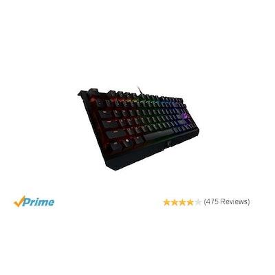 Amazon.com: Razer BlackWidow X Tournament Edition Chroma, Clicky RGB Mechanical