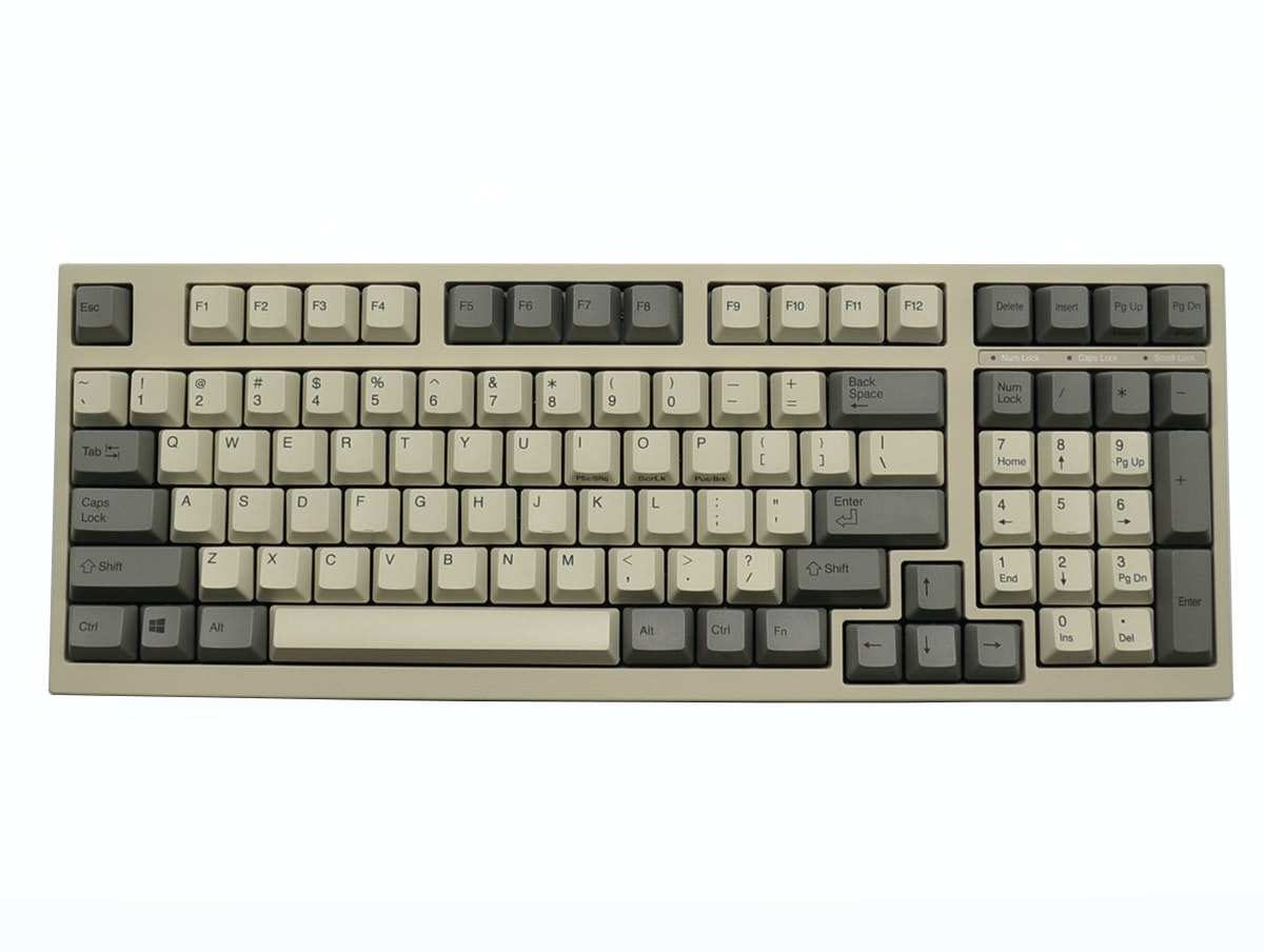 Leopold FC980C White (AECX01) Mechanical Keyboard (45g Electro Capacitive)