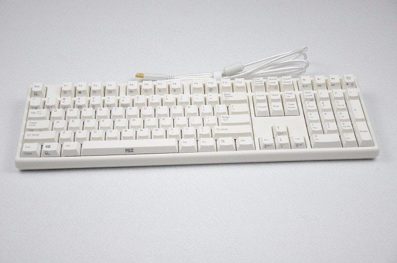 Plum 108-Key PBT & RGB Mechanical Keyboard (Electrostatic Capacitive Switch)