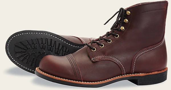 "Men's 8119 Iron Ranger 6"" Boot   Red Wing Heritage"