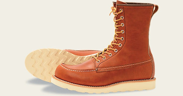 """Men's 877 Classic Moc 8"""" Boot   Red Wing Heritage"""
