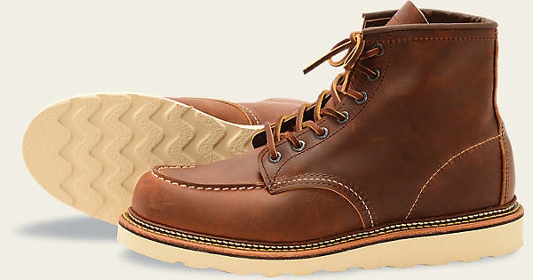 """Men's 1907 Classic Moc 6"""" Boot   Red Wing Heritage"""