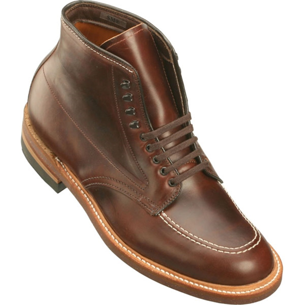 Alden Men's Indy Boot High Top Blucher Workboot   TheShoeMart.com