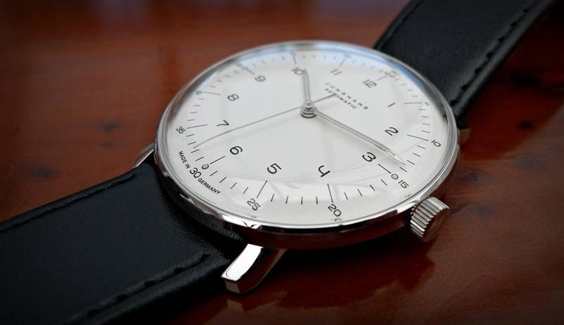 027/3500.00 Max Bill Automatic Watch by Junghans