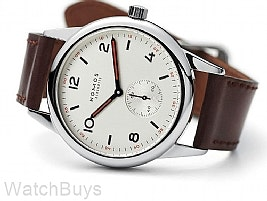 Nomos Club Automatic 40.0 mm Silver Dial Sapphire Back