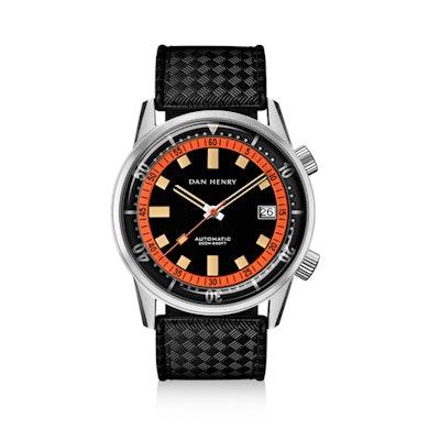 1970 Automatic Diver Compressor - DAN HENRY Vintage Watches