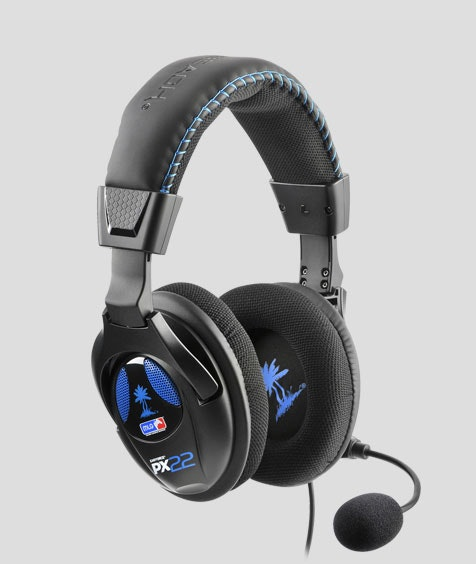 Ear Force PX22 Universal Stereo Sound Gaming Headset for PS3 and Xbox 360 - Turt