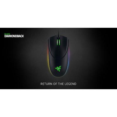 Razer Diamondback Chroma - Ambidextrous Gaming Mouse
