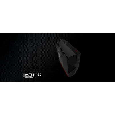 NZXT Noctis 450 Black and Red - PC Gaming Case - NZXT