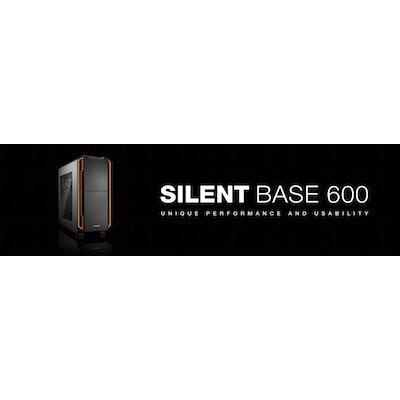 Silent PC case SILENT BASE 600   WINDOW ORANGE by be quiet!