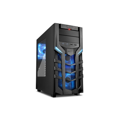 Sharkoon DG7000 Case, Blue
