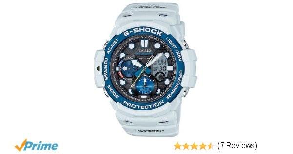 Casio G-Shock Smoke Dial Resin Digital Chrono Quartz Male Watch GN1000C-8A