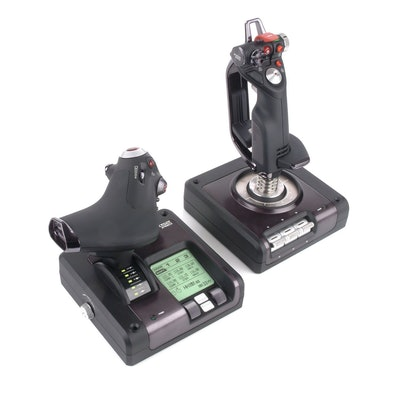 X52 Pro Flight System - Fully Integrated Stick and Throttle Flight Controller  S