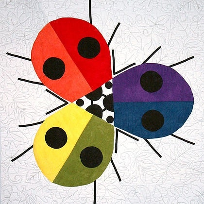 Rainbow Ladybugs