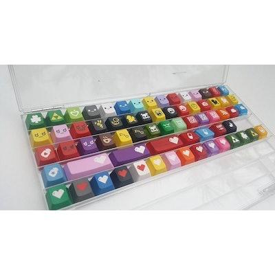 New Plexiglass Keycap Display Cases | KeyPop.net Home of Custom Cherry MX Keycap