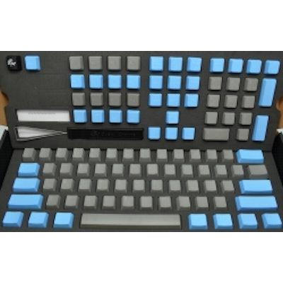 Ducky Grey/Blue PBT Cherry MX Keycaps Set