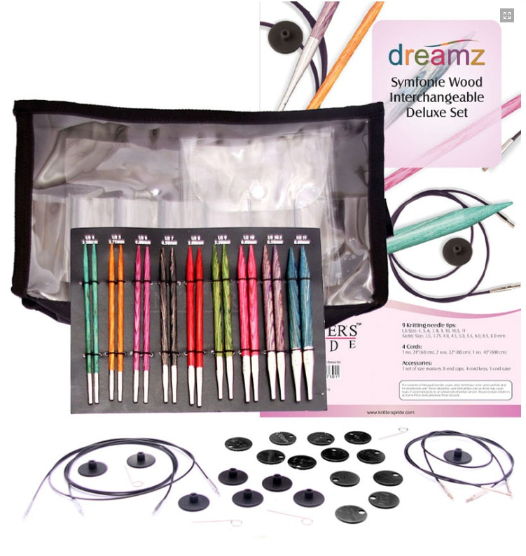Symfonie Dreamz Interchangeable Circular Needle Sets