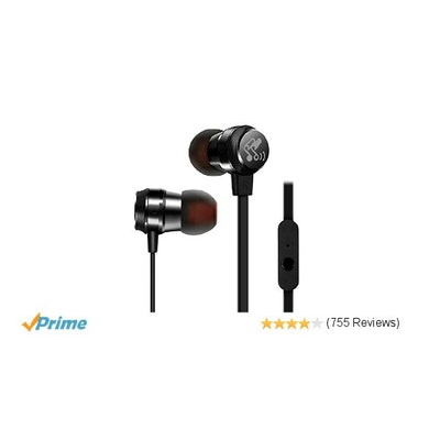 SoundPEATS M20 3.5mm Headphones In-Ear Wired Earphones Earbuds