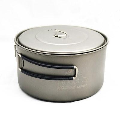 TOAKS Titanium 1350ml Pot – TOAKS OUTDOOR