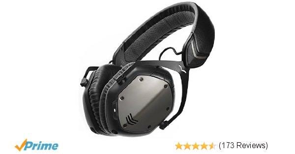 Amazon.com: V-MODA Crossfade Wireless Over-Ear Headphone - Gunmetal Black: Elect