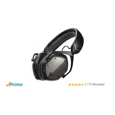 Amazon.com: V-MODA Crossfade Wireless Over-Ear Headphone - Gunmetal Black: Elect